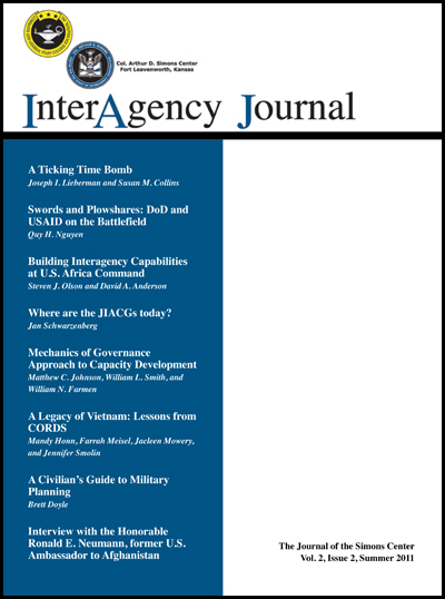 InterAgency Journal 2-2 (Summer 2011)