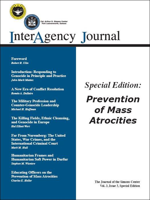 InterAgency Journal 3-2 (Special Edition)