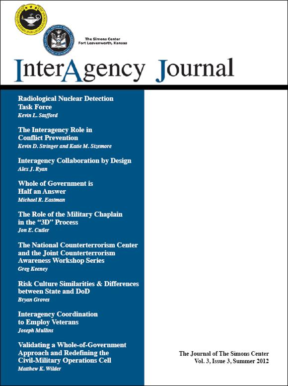 InterAgency Journal 3-3 (Summer 2012)