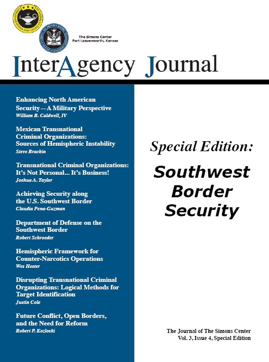 InterAgency Journal 3-4 (Special Edition)