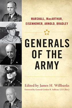 "Essay contest winner to recieve free copy of ""Generals of the Army"""