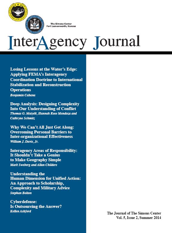 InterAgency Journal 5-2 (Summer 2014)