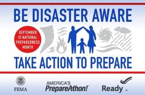 national disater preparedness month - 2014