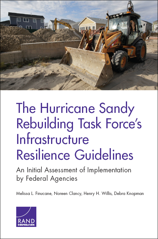 RAND report boasts lessons learned from Hurricane Sandy