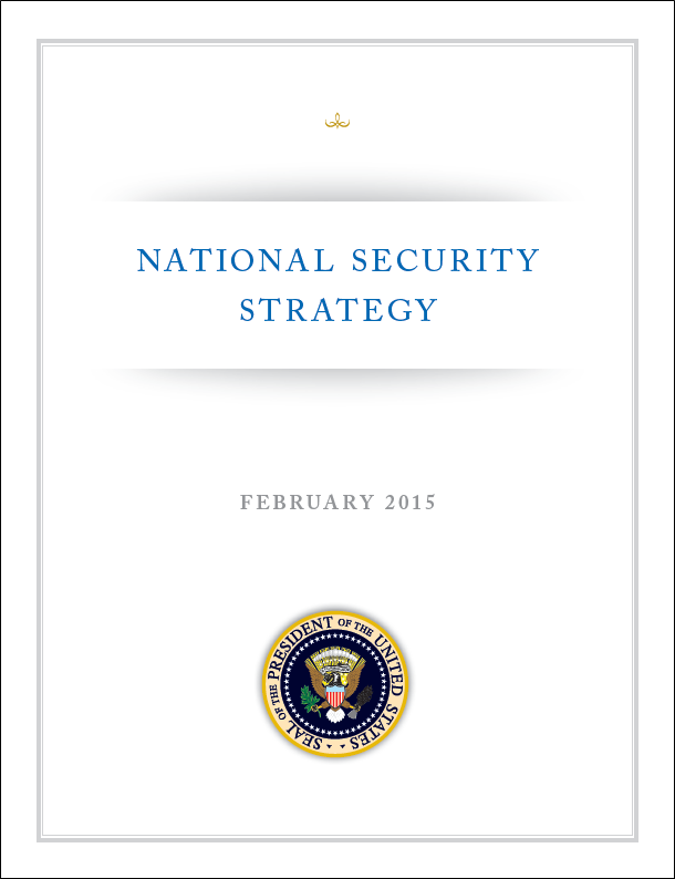President lays out 2015 National Security Strategy