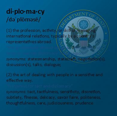 Defining diplomacy