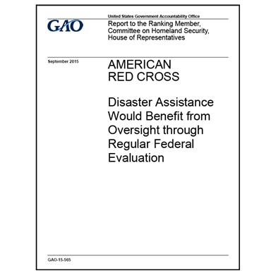 GAO evaluates Red Cross, interagency cooperation