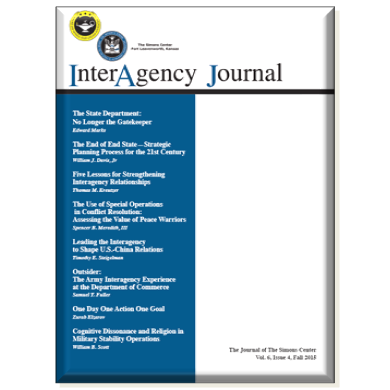 InterAgency Journal 6-4 (Fall 2015)