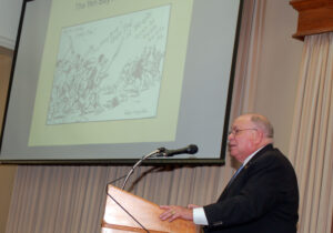 Dr. Jim Willbanks, director of the CGSC Dept. of Military History, presented the first lecture in the Vietnam War Commemoration Lecture Series on March 23, 2016. – Click the photo to see all the photos from the evening.