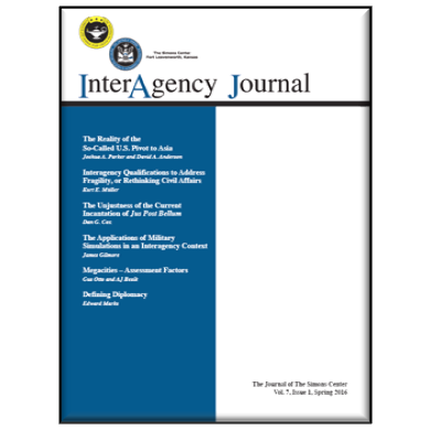 InterAgency Journal 7-1 (Spring 2016)
