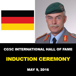 German Army leader inducted into International Hall of Fame
