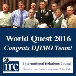 DJIMO 'World Quest' team takes second in annual competition