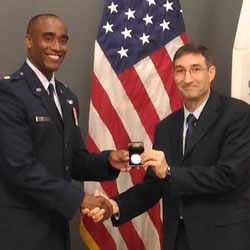 Harris Leadership award goes to grandson of Ethiopian General