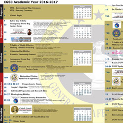 2016-2017 academic year calendar available online
