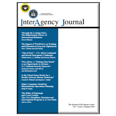 InterAgency Journal 7-2 (Summer 2016)