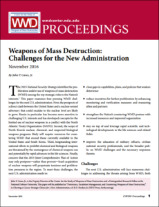 NDU WMD proceedings - Nov2016