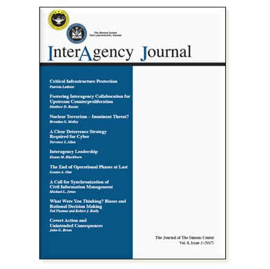 InterAgency Journal 8-3