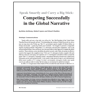 Featured Article: Competing Successfully in the Global Narrative