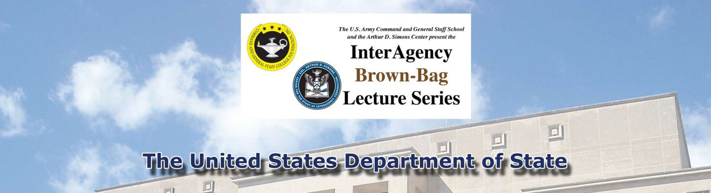 InterAgency Brown-Bag Lecture – November 14 | Arthur D