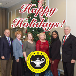 Happy Holidays from the CGSC Foundation and the Simons Center