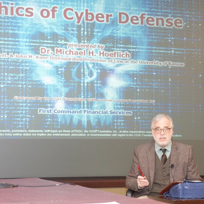 Ethics of Cyber Defense topic of InterAgency Brown-Bag Lecture
