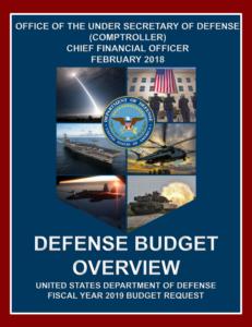 DoD Budget - FY2019