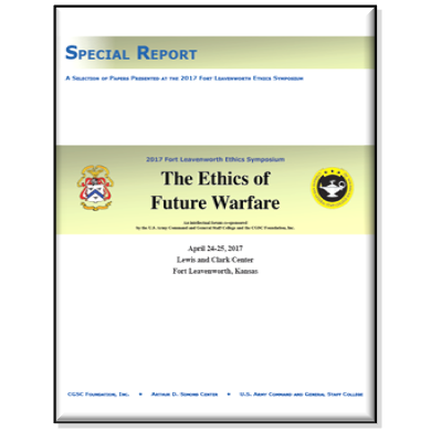 Special Report: The Ethics of Future Warfare