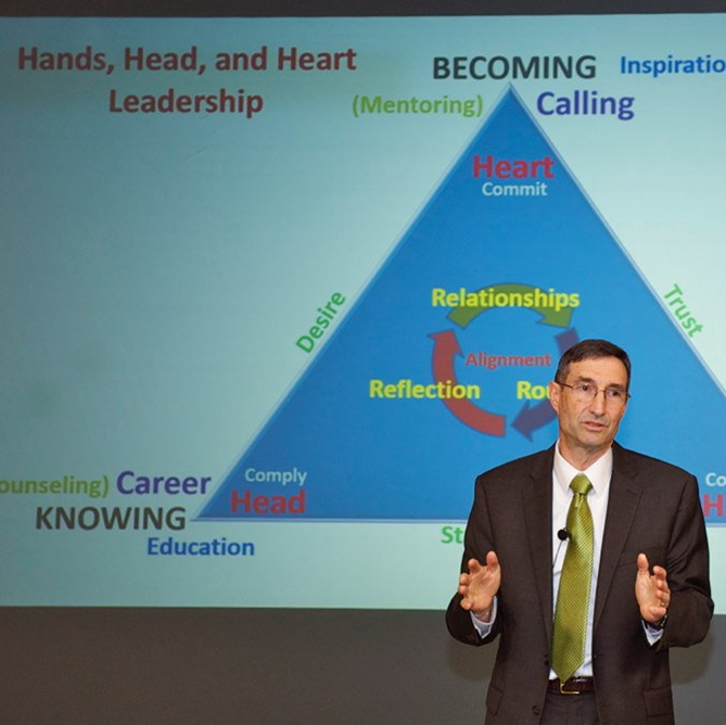 'Hands, Head, and Heart' vital to effective leadership