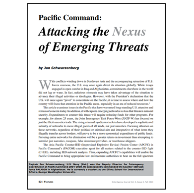 Featured Article: Attacking the Nexus of Emerging Threats