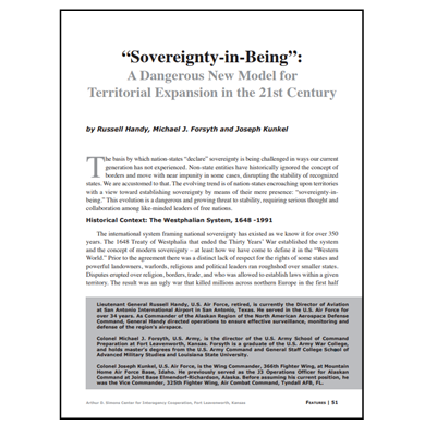 Featured Article: Sovereignty-in-Being