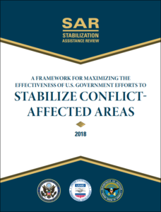 Stabilization Assistance Review 2018