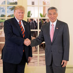 Singapore's Prime Minister hosts historic summit