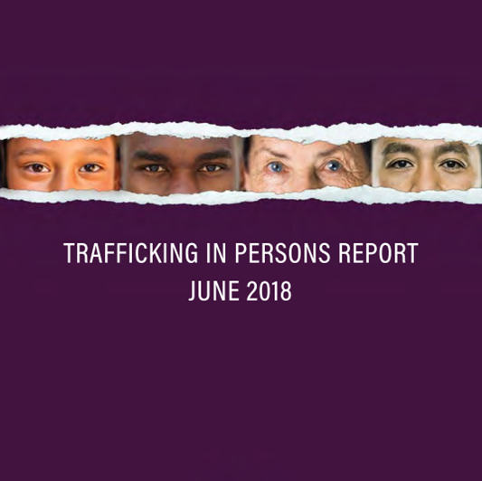2018 Trafficking in Persons report released