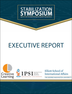 Stabilization Symposium report