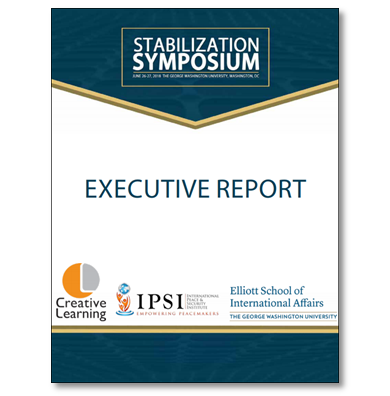Stabilization Symposium findings published