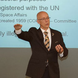 Space Force subject of InterAgency Brown-Bag Lecture