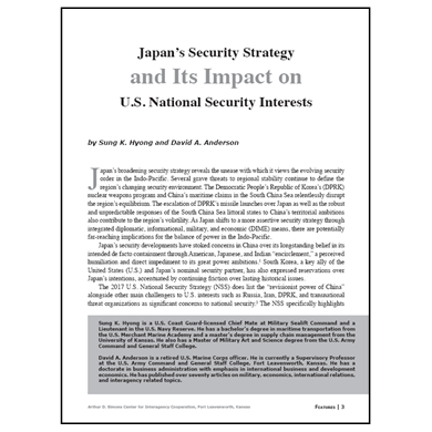 Featured Article: Japan's Security Strategy…