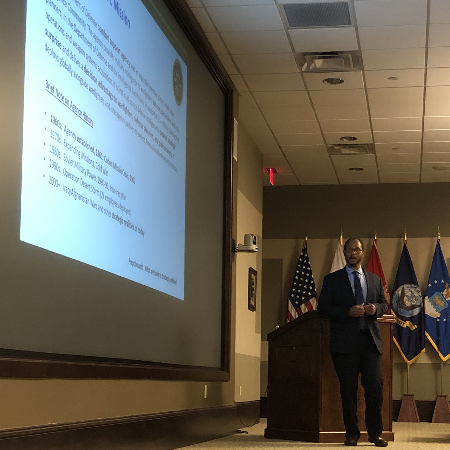 Defense Intelligence Agency subject of latest brown-bag lecture