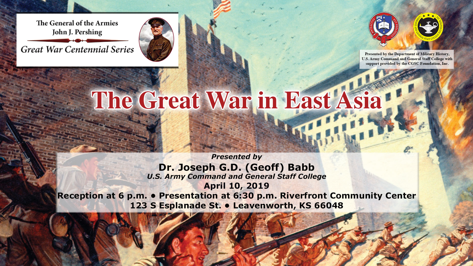 Pershing lecture #19 info image
