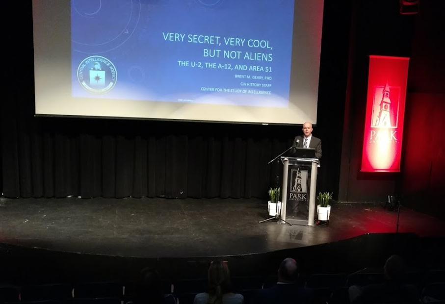 Brent Geary, Ph.D., presented a lecture titled