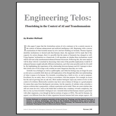 Featured Article: Engineering Telos…