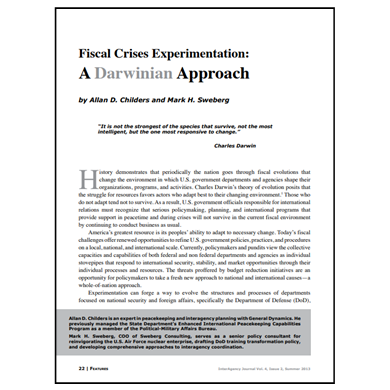 Featured Article: Fiscal Crises Experimentation…