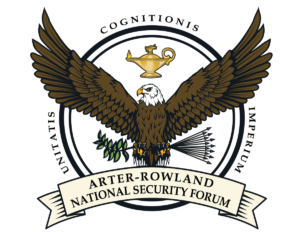Arter-Rowland National Security Forum logo