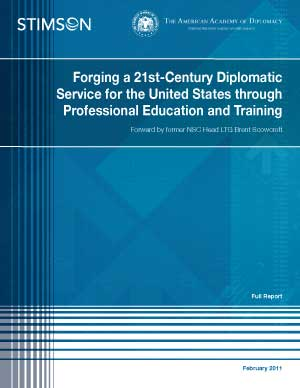Study recommends improved professional education and training for diplomats
