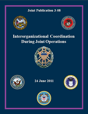Joint Publication 3-08 sets doctrine for interorganizational coordination during joint operations
