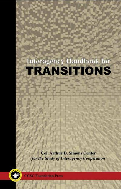 Simons Center Releases Interagency Handbook for Transitions