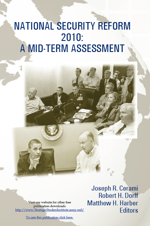 National Security Reform Mid-Term Assessment addresses interagency issues