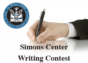 Simons Center Announces Winner of 2013 Writing Competition