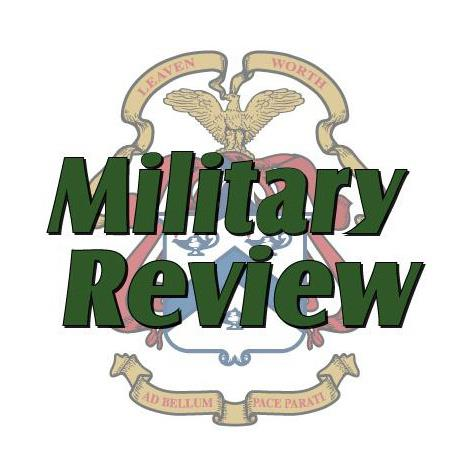 Simons Center Deputy Director Published in Military Review