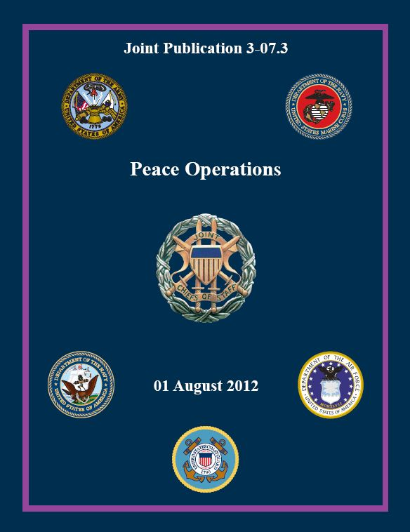 DoD releases joint publication on peace operations